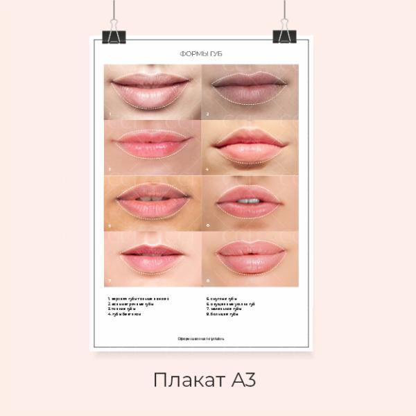формы губ для перманентного макияжа_